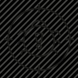 bug, protection, scan, virus icon