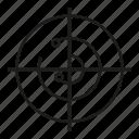 analysis, analytics, radar, scan icon
