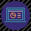 chart, dashboard, report icon