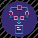 data, file, modelling icon