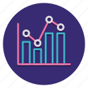 analytics, chart, histogram, statistics icon