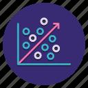analysis, chart, regression icon