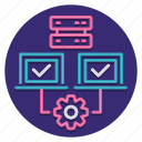 hosting, shared, web icon