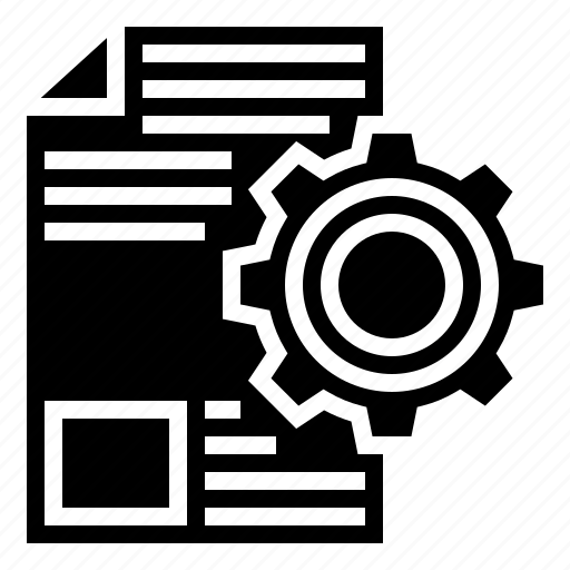 data, disclosure, information, processing, revelation icon