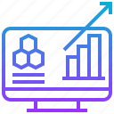 analytic, chart, data, forecast, trend
