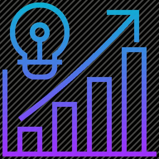 chart, data, information, statistic, visualisation icon