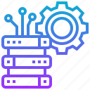 data, database, management, resource, system icon