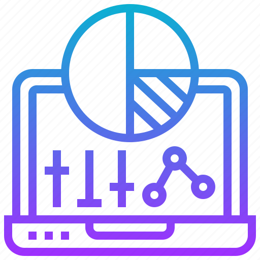 data, logical, optimisation, process, schema icon
