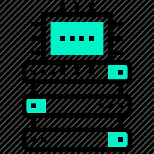 computer, data, operation, processing, transform icon