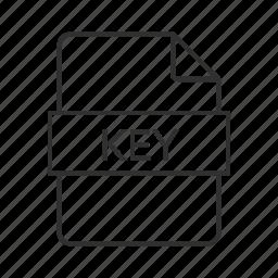 file, file type, keynote, keynote file, keynote icon, keynote presentation, presentation icon