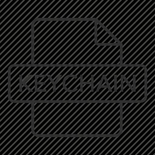 keychain, keychain file, keychain icon, mac os, mac os file, mac os x keychain, mac os x keychain file icon