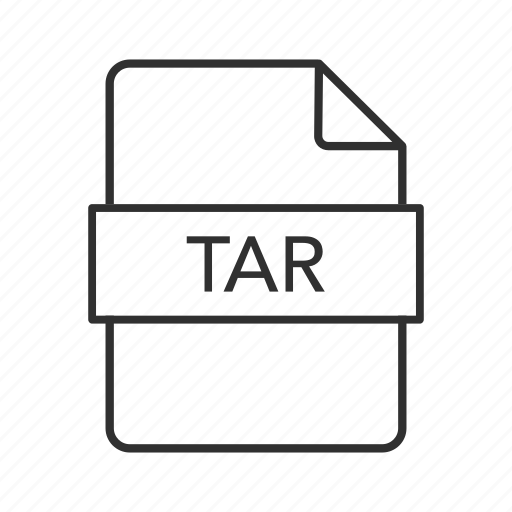 consolidated unix file, consolidated unix file archive, tar, tar file, tar file icon, tar icon, unix icon