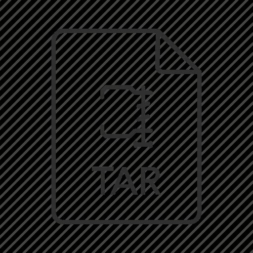 consolidated unix file, consolidated unix file archive, tar, tar file, tar file icon, tar icon icon