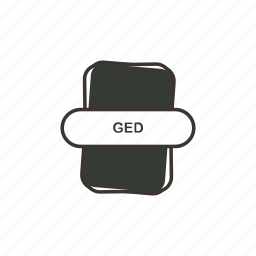 extension, ged, ged file, ged icons icon