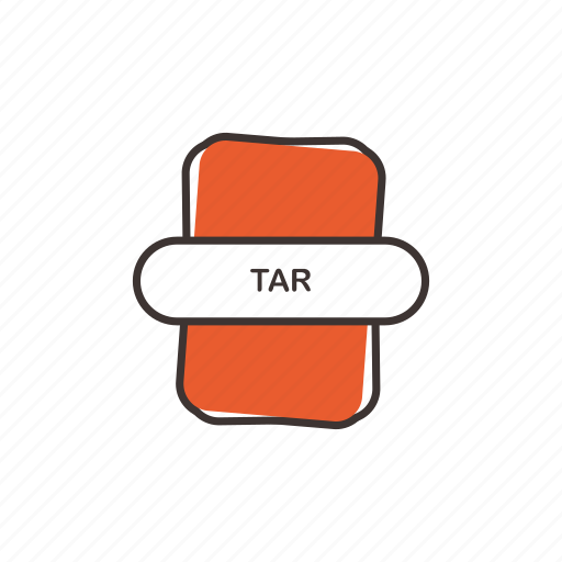 extension, tar, tar extension, tar icon icon