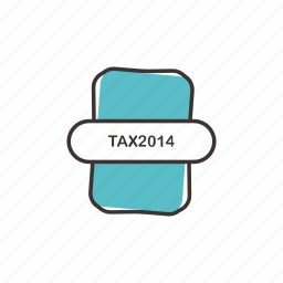 extension, tax 2014 icons, tax file, tax2014 icon