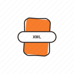 android, extension, xml, xml file icon