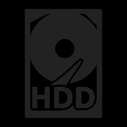 data, disk, hard, storage icon