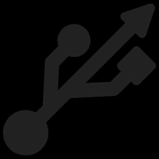 device, plug, usb icon
