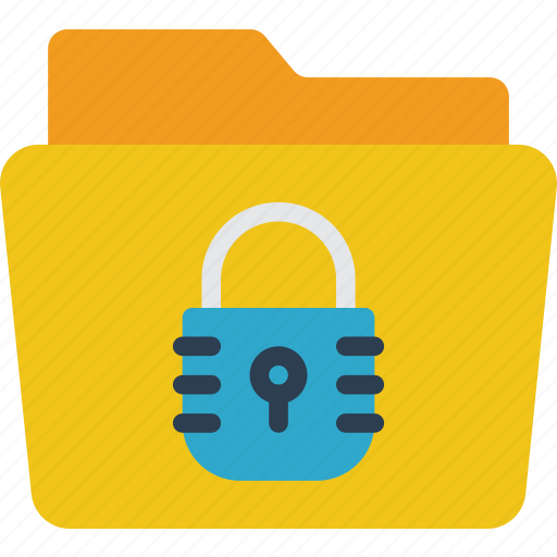 data, folder, info, protect, protection, secure, security icon