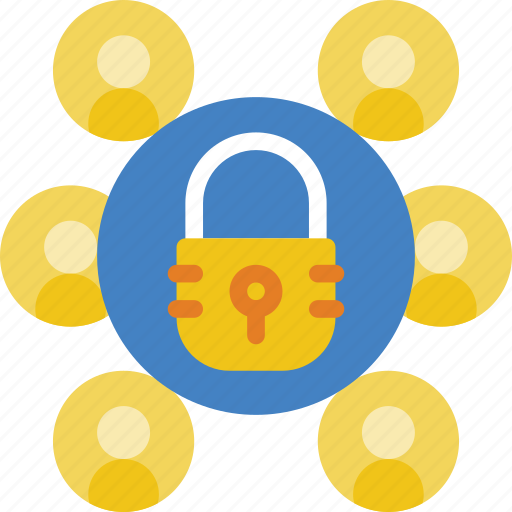 group, policy, security icon
