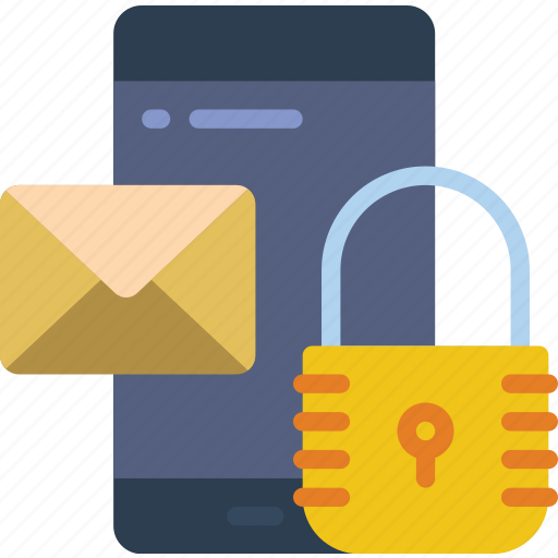 data, email, mobile, protect, protection, secure, security icon