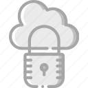 cloud, data, protect, protection, secure, security icon