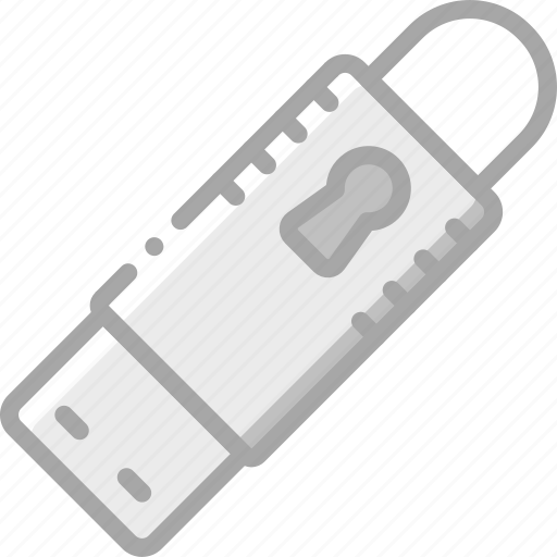 data, protect, protection, secure, security, stick icon