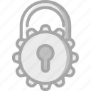 data, lock, locked, protect, protection, security icon