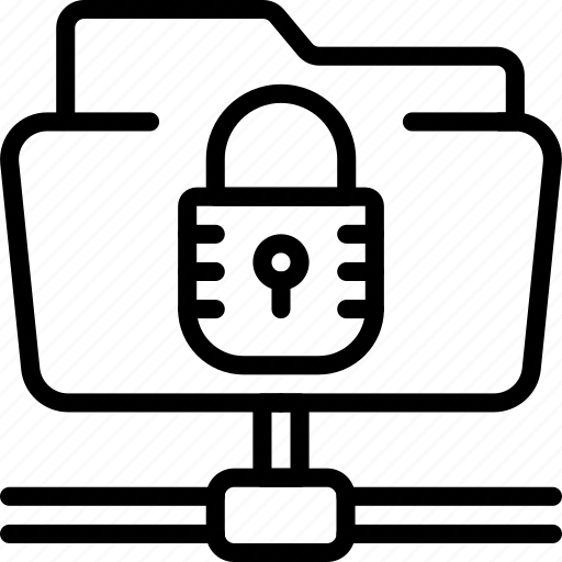 data, file, protect, protection, secure, security, shared icon