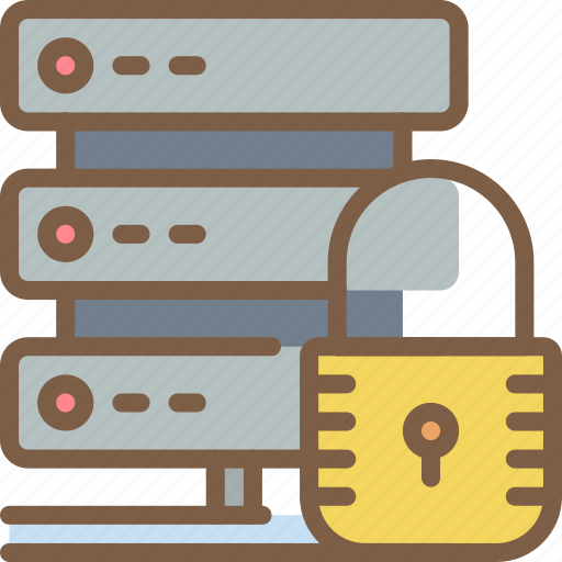 data, protect, protection, secure, security, servers icon