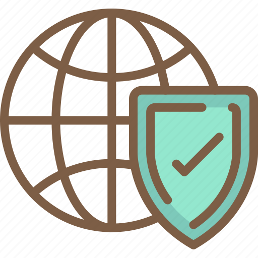 data, protect, protection, safe, security, web icon