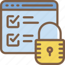 data, protect, protection, secure, security icon