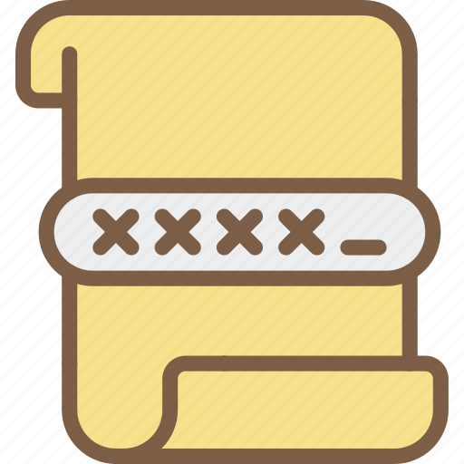 data, encrypted, file, protect, protection, security icon
