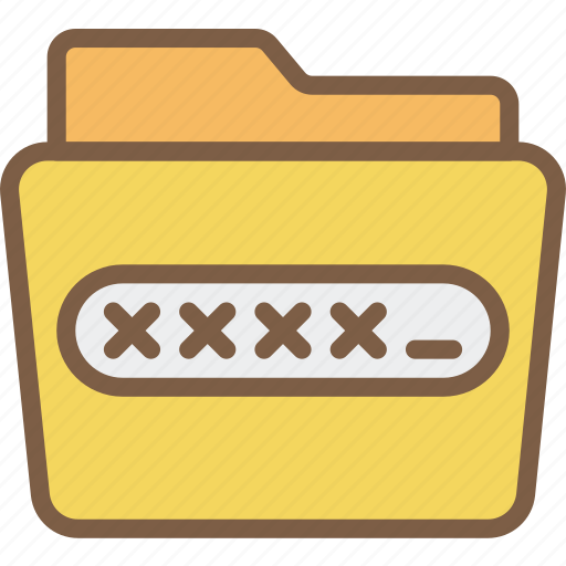 data, encrypted, folder, protect, protection, security icon