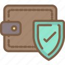data, payment, protect, protection, security icon