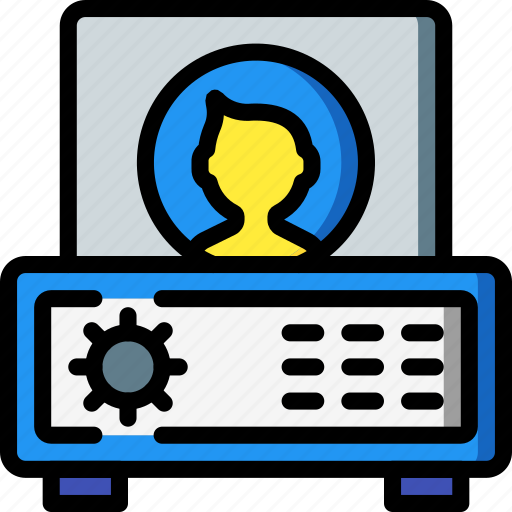 data, protect, protection, security, vault icon