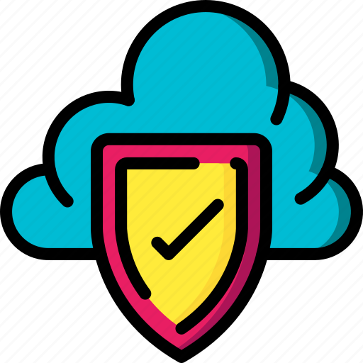 cloud, data, protect, protection, security icon