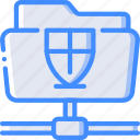 data, file, protect, protected, protection, security, shared icon