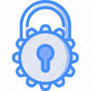 data, locked, protect, protection, security icon