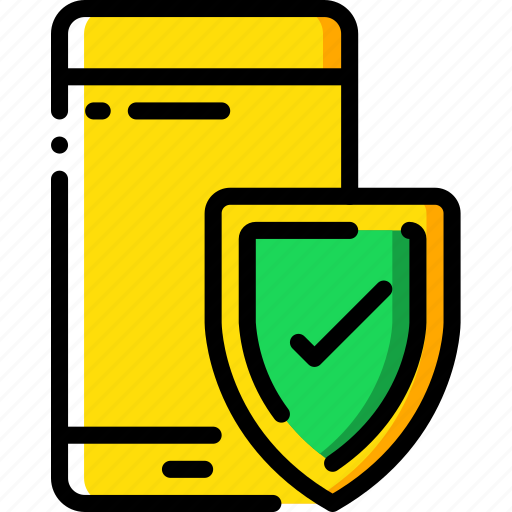 data, mobile, protect, protected, protection, security icon
