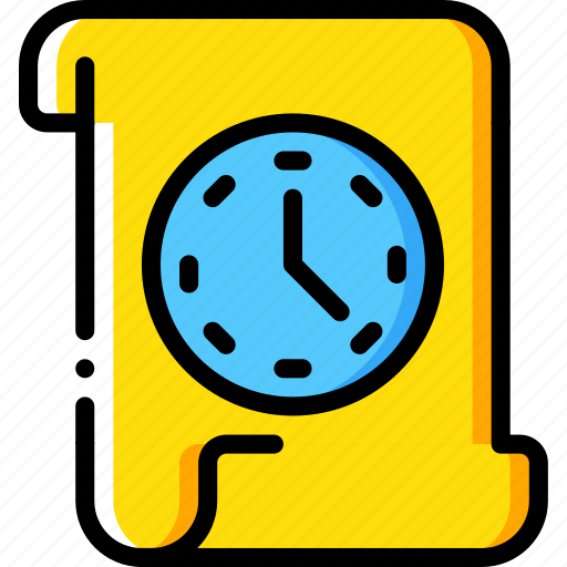 archive, data, file, protect, protection, security, timed icon