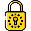 data, gdpr, lock, protect, protection, security icon