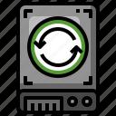 sync, harddrive, electronics, storage, data