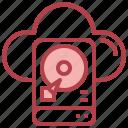 cloud, backup, harddisk, harddrive, storage