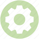 cogwheel, data science, gear, options, setting icon