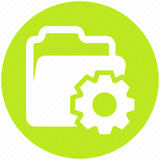 cogwheel, data, folder, gear, options, setting icon
