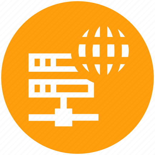 data science, database, server, storage, world icon
