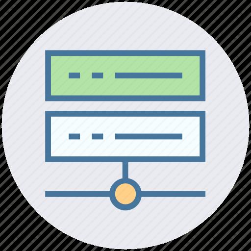 data science, database, hosting, internet, network, server icon
