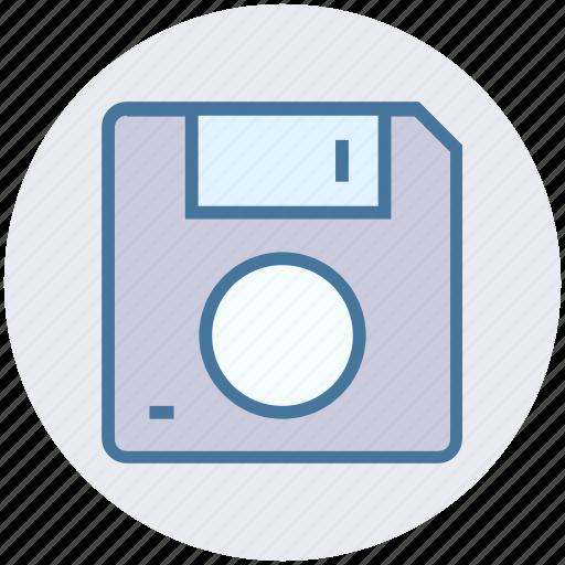 data, database, disk, drive, floppy, save, storage icon